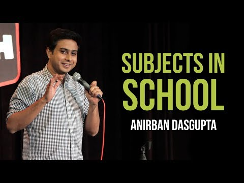 connectYoutube - Subjects In School | Anirban Dasgupta Stand-up Comedy