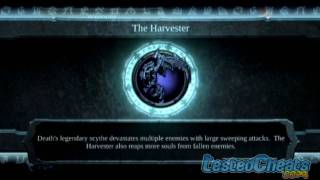 Darksiders: code to unlock Harvester Weapon