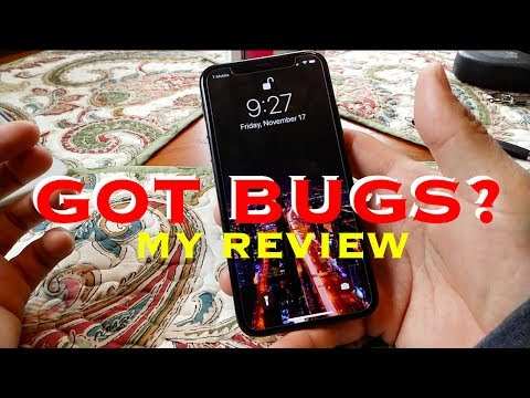 IPHONE X REVIEW ( Still Full Of Bugs! )