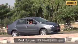 Toyota Etios VD Review
