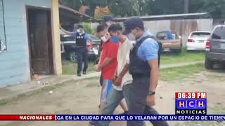 Policía Nacional realiza múltiples capturas en El Progreso, Yoro