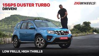 🚙 Renault Duster Turbo   Boosted Engine = Fun Behind The Wheel?   ZigWheels.com