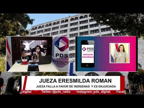 Entrevista- Jueza Eresmilda Román
