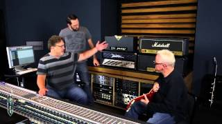 Recording Electric Guitar with Ross Hogarth & Tim Pierce - Session 1