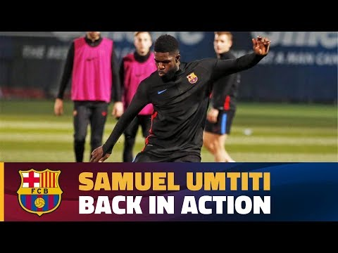 Samuel Umtiti receives medical clearance