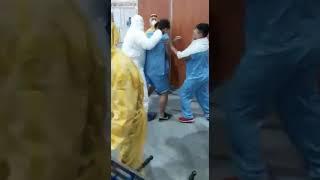 Pacientes con Coronavirus se enfrentan por el robo de un celular en Argentina