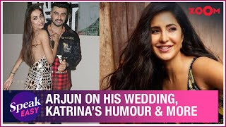 Arjun Kapoor on his wedding rumours with Malaika Arora, Katrina Kaif's humour & more | Exclusive - ZOOMDEKHO