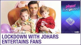 Lockdown with Johars lifts everyone's mood once again as Karan Johar's kids have fun - ZOOMDEKHO