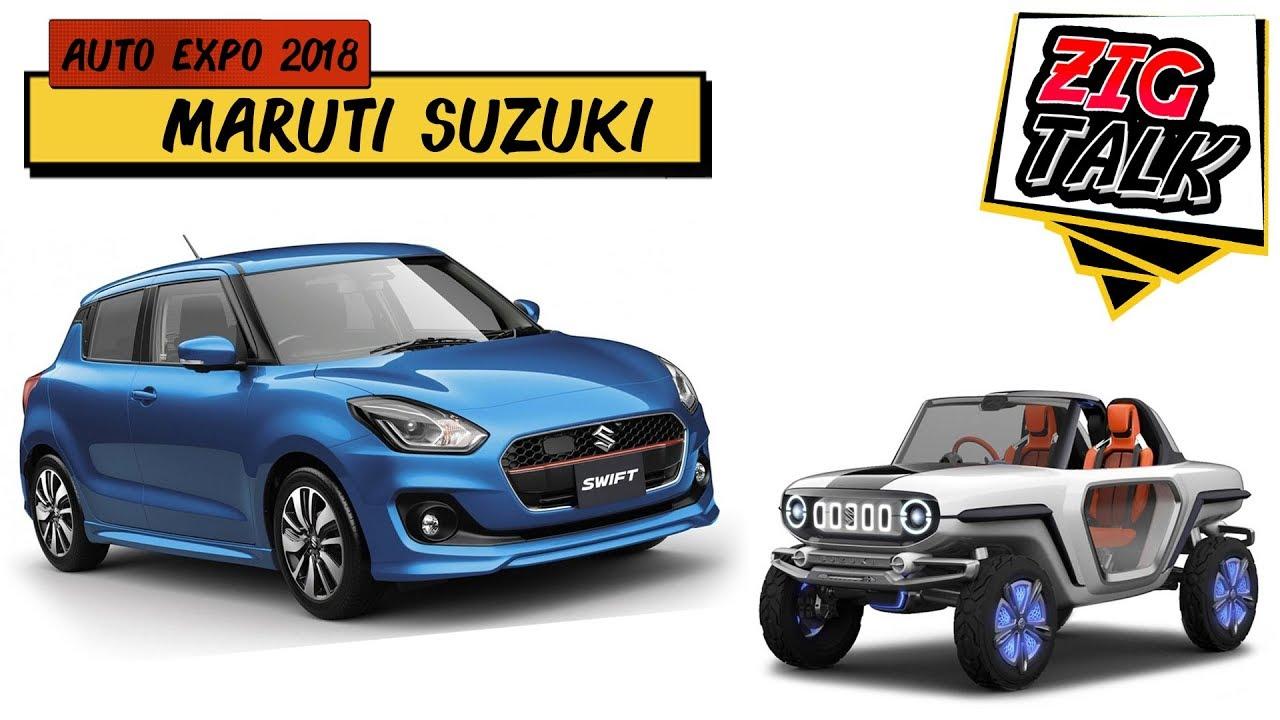 Maruti Suzuki @ Auto Expo 2018: What To Expect | ZigTalk | ZigWheels.com