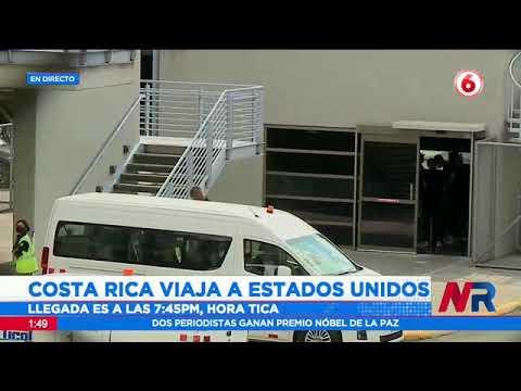 Costa Rica sale rumbo a los EE.UU. para su juego en eliminatoria mundialista