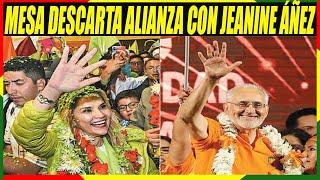 Carlos Mesa Descarta Alianza Con Jeanine Áñez - Responsabiliza al Gobierno y al TSE Por Elecciones