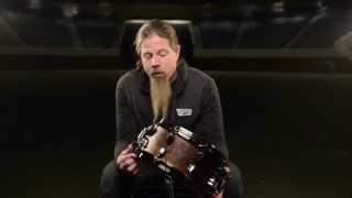 Mapex 5.5x12 Black Panther Warbird Chris Adler Snare Drum