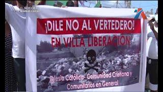 Protestas en la alcaldía de Santo Domingo Este