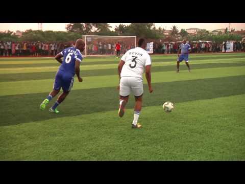 VIDEO: Ex-Black Stars XI vs Asamoah Gyan XI on Gyan Sports Centre