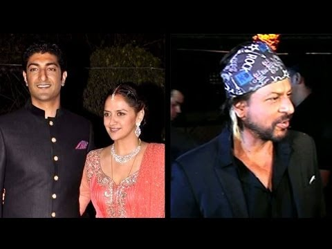 Bollywood Celebs At Ahana Deol's Wedding Reception