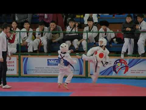 Черненко Сергей 1 бой 2 раунд