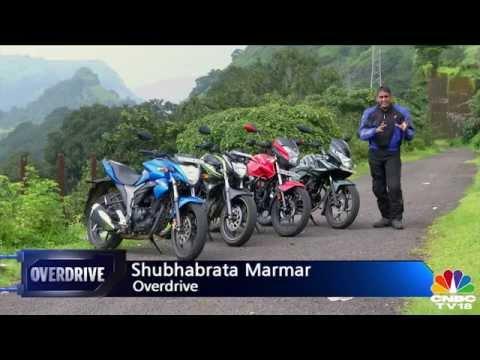 Bajaj Discover 150F vs Yamaha FZ-S v2.0 vs Hero Xtreme vs Suzuki Gixxer