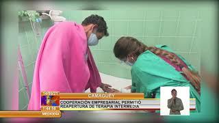 Cuba/Camagüey: Cooperación empresarial permitió reapertura de terapia intermedia