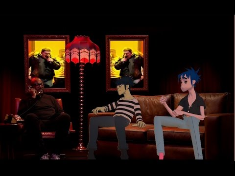 the gorillaz interview but a new guest appears