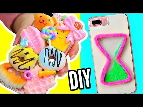 connectYoutube - DIY Easy Phone Cases! Squishy Phone Case, Watercolor Phone Case + More!