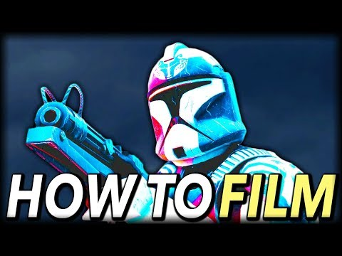 How To Film Cinematics In Star Wars Battlefront 2 - In Depth Tutorial