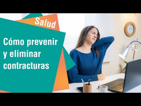 Cómo prevenir y eliminar contracturas | Salud