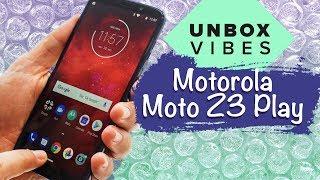 Motorola Moto Z3 Play unboxing