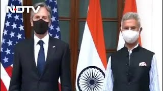 Afghanistan, Quad, Covid Headline S Jaishankar-Antony Blinken Talks - NDTV