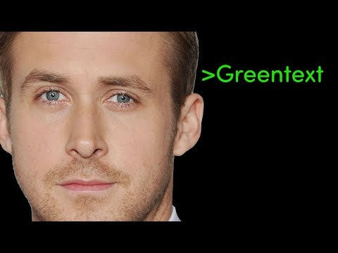 Greentext - Ryan Gosling at the Grocery