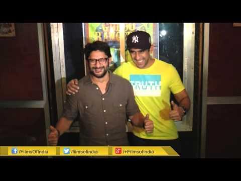 Arshad Warsi Spotted At Gaiety Cinema Hall