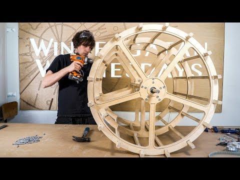 Assembling the Programming Wheel Skeleton - Marble Machine X Ep.11