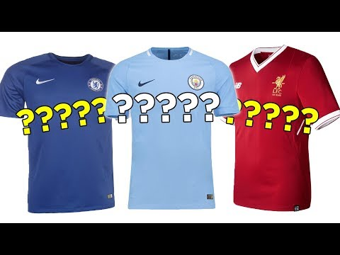 All 20 Premier League 2017/18 Kits With NO Sponsors