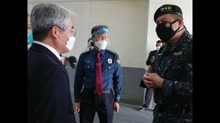 Comunidad coreana dona equipo de protección a la PNC