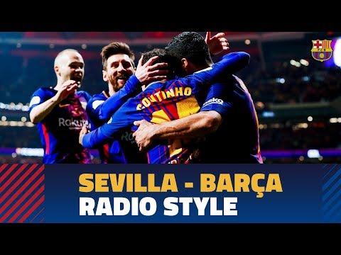 SEVILLA 0 - BARÇA 5 | FC Barcelona goals