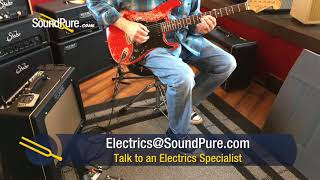 Luxxtone Choppa S Destroyed Dakota Red HSS Electric #223 Quick n' Dirty