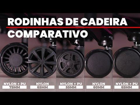 Comparativo de Rodinhas | Cadeira Gamer e Escritório