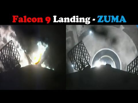 connectYoutube - SpaceX ZUMA - Falcon 9 First Stage Landing