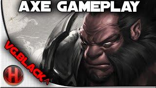 VG.Black^ 6306 MMR Axe Gameplay Dota 2