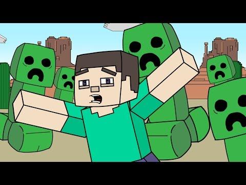 "connectYoutube - Minecraft Parody | ""Creepzilla"""