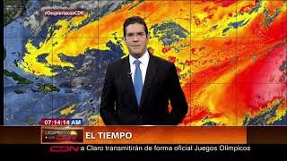 Vaguada mantendrá aguaceros y tormentas eléctricas; continúan alertas y avisos meteorológicos
