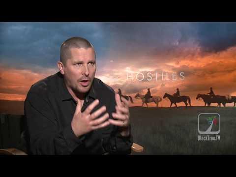 Christian Bale Hostiles Interview