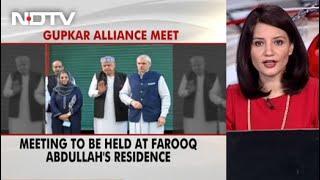 Jbackslashu0026K Parties Hold Talks For 2nd Day Over Invite For PM Modi's Meeting - NDTV