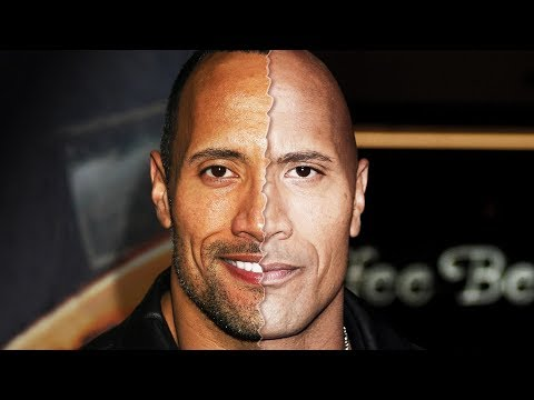 connectYoutube - The Stunning Transformation Of Dwayne The Rock Johnson