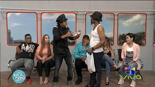 Dominicano vendiendo papitas y platanitos en el metro - Boca de piano es un show