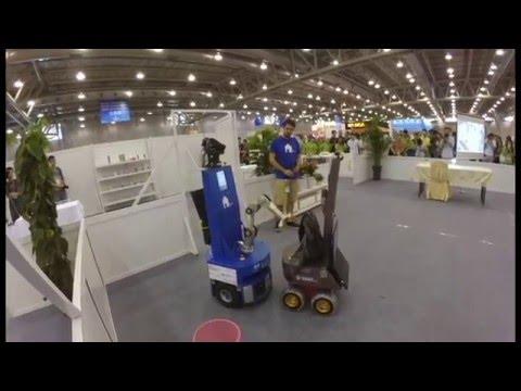 RoboCup@Home - Qualification Video 2016 - Team homer@UniKoblenz