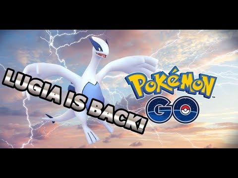 connectYoutube - LUGIA RETURNS TO POKEMON GO WITH AN IMPROVED MOVE | MOVIE PROMOTION