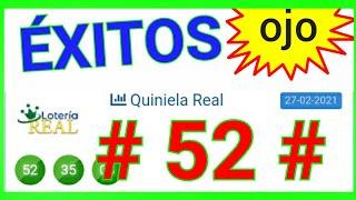 NÚMEROS QUE MÁS SALEN HOY (( 52 )) BINGO HOY / loteria REAL de HOY..! NÚMEROS RECOMENDADOS PARA HOY