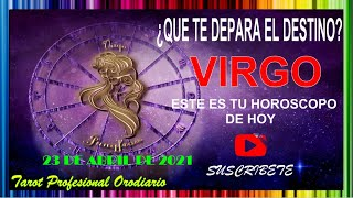 """?VIRGO HOY 23 DE ABRIL DE 2021?????Tu Destino!? """"Poder! Éxito! Y HOROSCOPO"""" ?????????? #Horoscopodehoy"""