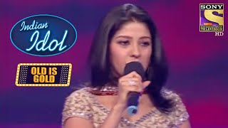 Sunidhi नें Stage पे की मज़ेदार बातें | Indian Idol | Old Is Gold - SETINDIA