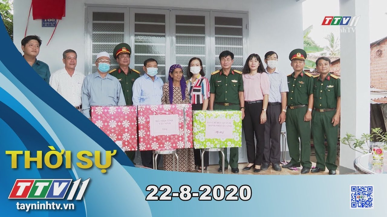 Thời sự Tây Ninh 22-8-2020 | Tin tức hôm nay | TayNinhTV